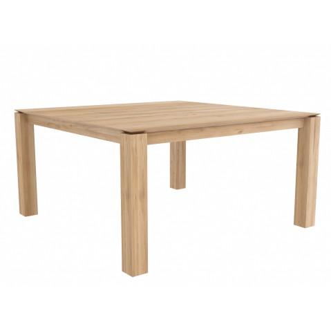 Table carrée SLICE en chêne d'Ethnicraft