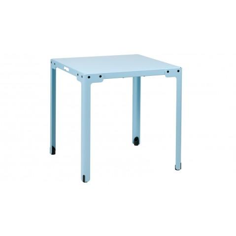 Table carrée T-TABLE de Functionals Bleu clair