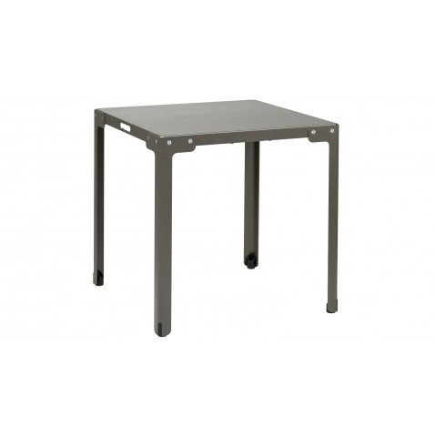 Table carrée T-TABLE de Functionals Gris foncé