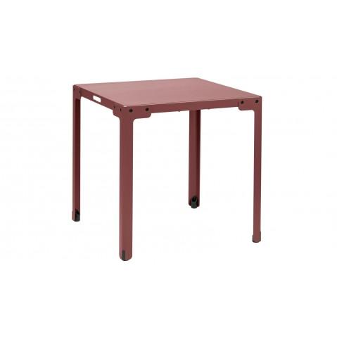 Table carrée T-TABLE de Functionals Rouille