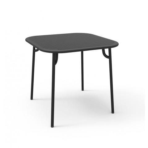 Table carrée WEEK-END de Petite Friture, 4 coloris