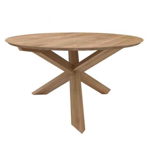 Table CIRCLE en chêne d'Ethnicraft-D. 136