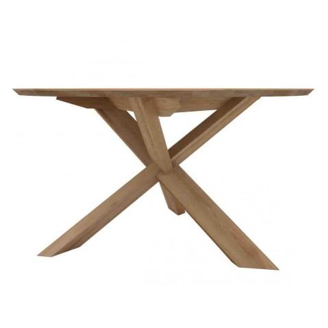 Table CIRCLE en chêne d'Ethnicraft - D. 163