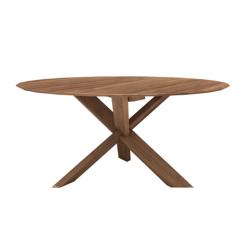 Table CIRCLE en teck d'Ethnicraft-D. 163