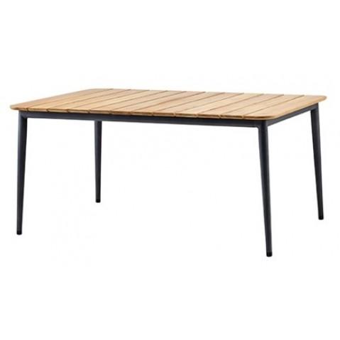 Table CORE de Cane-line, 160 cm