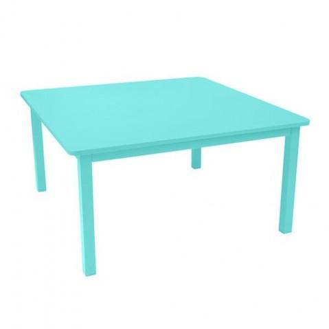 Table CRAFT de Fermob, Bleu lagune