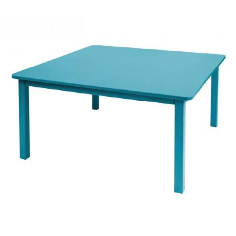 Table CRAFT de Fermob bleu turquoise