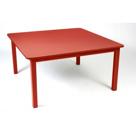 Table CRAFT de Fermob coquelicot
