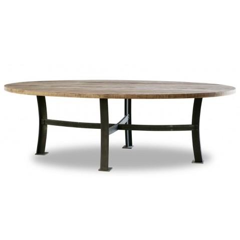 Table CS OV II BASICS d'Heerenhuis ovale, L. 240 cm