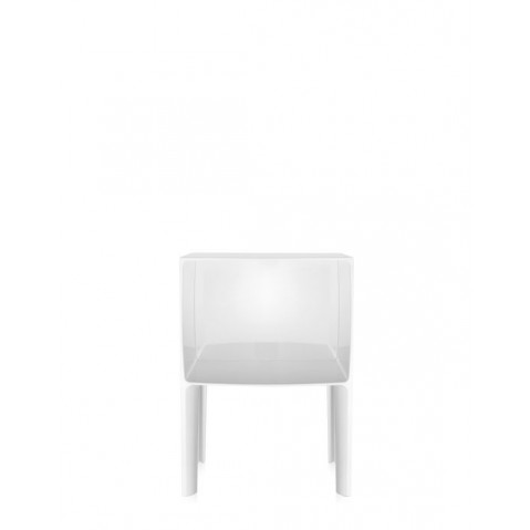 Table de nuit SMALL GHOST BUSTER de Kartell, Blanc Opaque