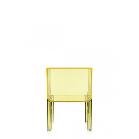 Table de nuit SMALL GHOST BUSTER de Kartell, Jaune