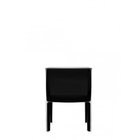 Table de nuit SMALL GHOST BUSTER de Kartell, Noir Opaque