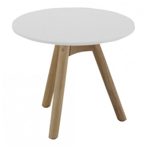 Table de salon DANSK de Gloster, plateau pierre acrylique