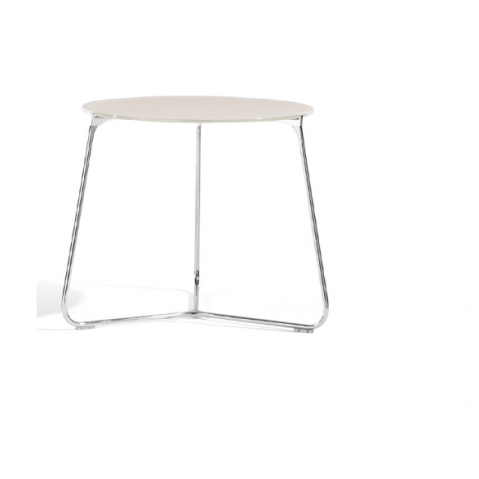 Table de salon MOOD de Manutti, Blanc, D. 60