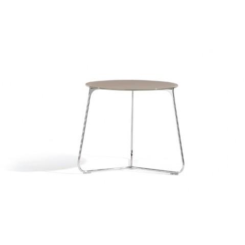 Table de salon  MOOD de Manutti, Taupe, Ø42