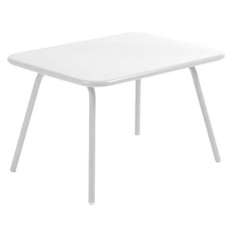 Table Enfant LUXEMBOURG KID de Fermob blanc coton