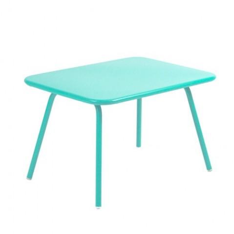 Table Enfant LUXEMBOURG KID de Fermob Bleu lagune