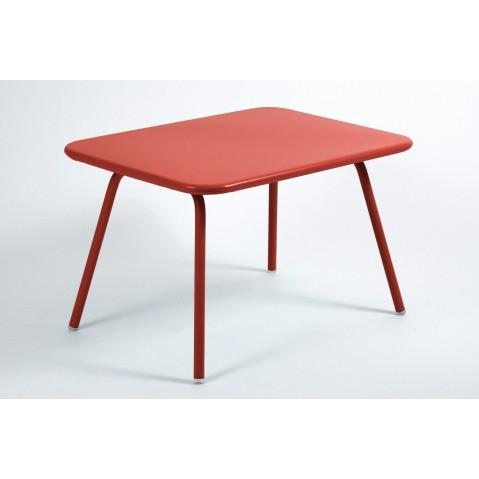 Table Enfant LUXEMBOURG KID de Fermob coquelicot