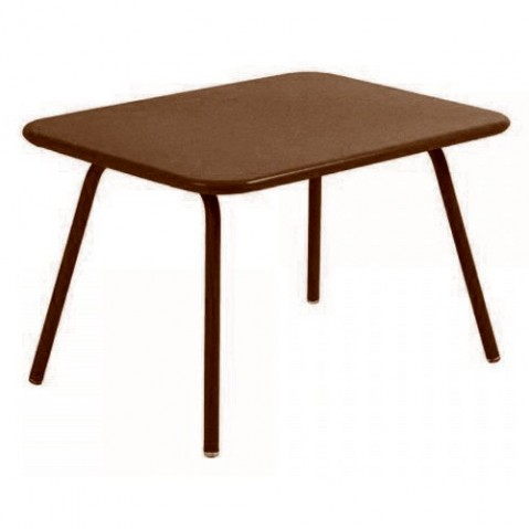 Table Enfant LUXEMBOURG KID de Fermob rouille