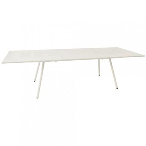 TABLE EXTENSIBLE BRIDGE 200 CM + 70 CM / BLANC de EMU