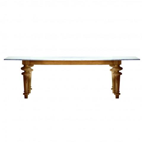 Table GRAY de Gervasoni plateau marbre, 5 tailles