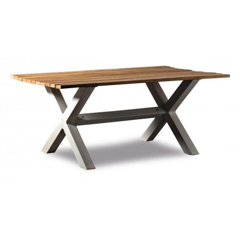 Table haute BANQUÉTÉ de Serralunga L.180 cm