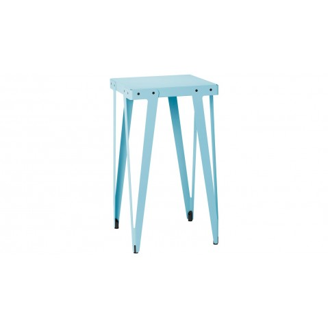 Table Haute LLYOD de Functionals, Bleu clair