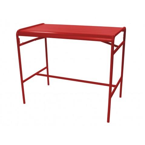 Table haute LUXEMBOURG de Fermob, Coquelicot