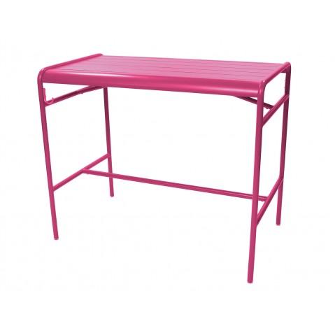 Table haute LUXEMBOURG de Fermob, Fuchsia