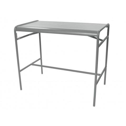 Table haute LUXEMBOURG de Fermob, Gris métal