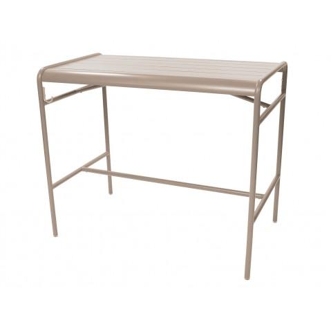 Table haute LUXEMBOURG de Fermob, Muscade