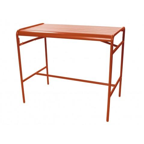 Table haute LUXEMBOURG de Fermob, Paprika