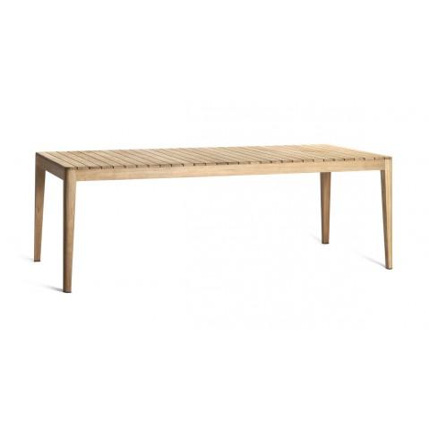 Table haute MOOD de Tribù, L.240 X P.100 X H.75