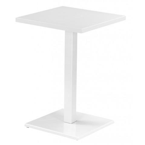 Table haute ROUND de Emu blanc