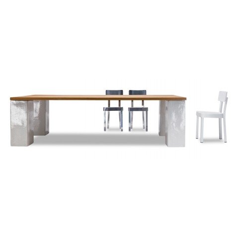 Table INOUT 33/34 de Gervasoni blanc