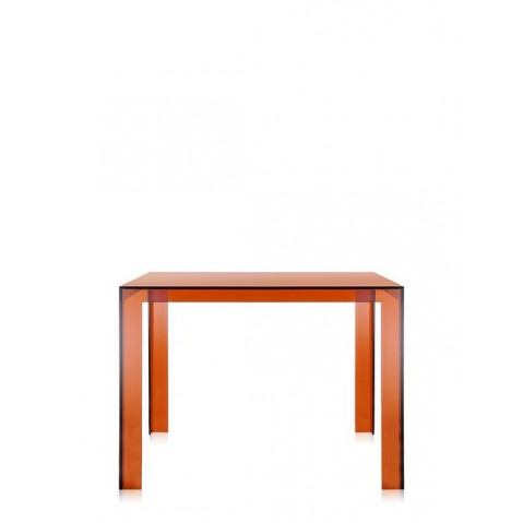 Table INVISIBLE de Kartell, Ambre