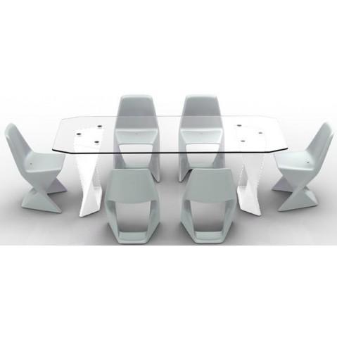 Table ISO Finition HPL 24 mm Qui est Paul Blanc