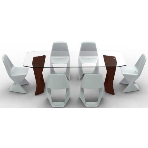 Table ISO Finition HPL 24 mm Qui est Paul Chocolat