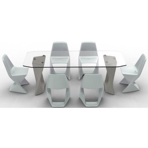 Table ISO Finition HPL 24 mm Qui est Paul Gris