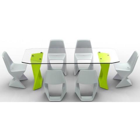 Table ISO Finition HPL 24 mm Qui est Paul Vert