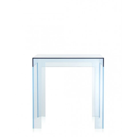 Table JOLLY  de Kartell, Bleu Azur
