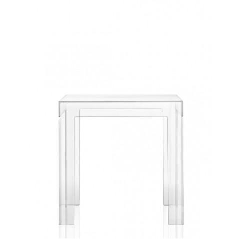 Table JOLLY de Kartell, Cristal