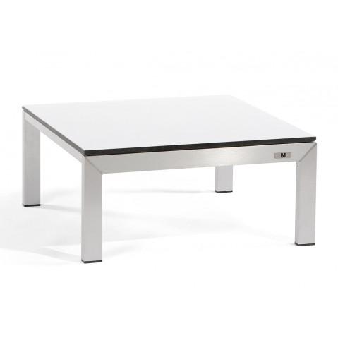 Table LOUNGE LINER de Manutti en Trespa blanc