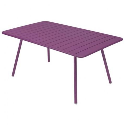 Table LUXEMBOURG de Fermob aubergine