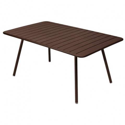 Table LUXEMBOURG de Fermob rouille