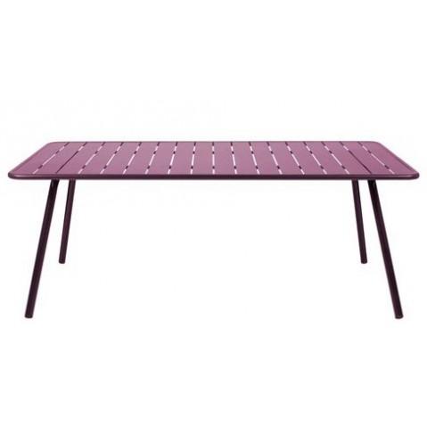 Table LUXEMBOURG pour 8 personnes de Fermob aubergine