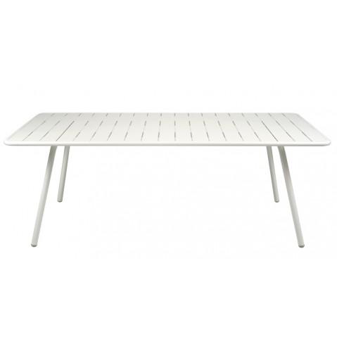 Table LUXEMBOURG pour 8 personnes de Fermob blanc coton