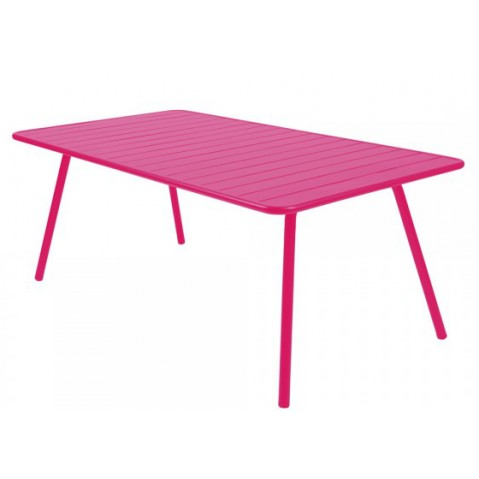 Table LUXEMBOURG pour 8 personnes de Fermob fuchsia