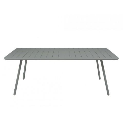 Table LUXEMBOURG pour 8 personnes de Fermob gris orage