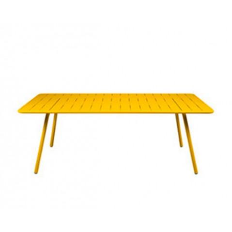Table LUXEMBOURG pour 8 personnes de Fermob Miel